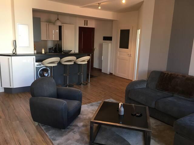 Appartement T2 de 45m2 centre ville d'Evian