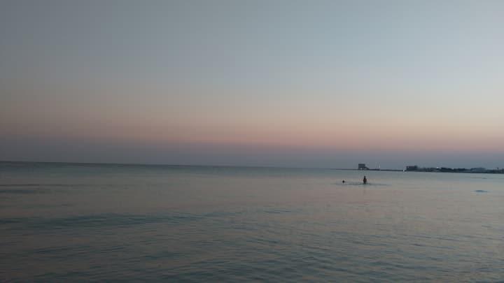 Villa Francy, Torre Lapillo Beach
