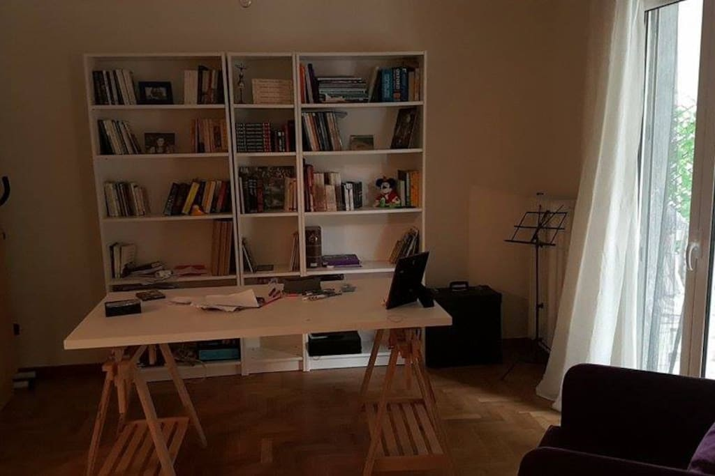Office & Library (maps are provited to all our guests)