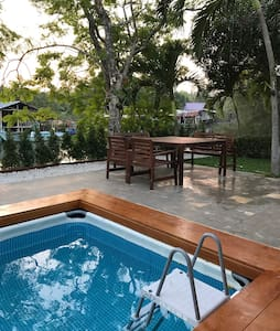 New pool villa nearby the sea - Kram