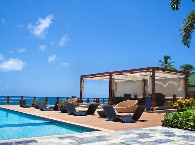 Oceanfront Penthouse at Playa Juan Dolio - Playa Juan Dolio - Apartmen