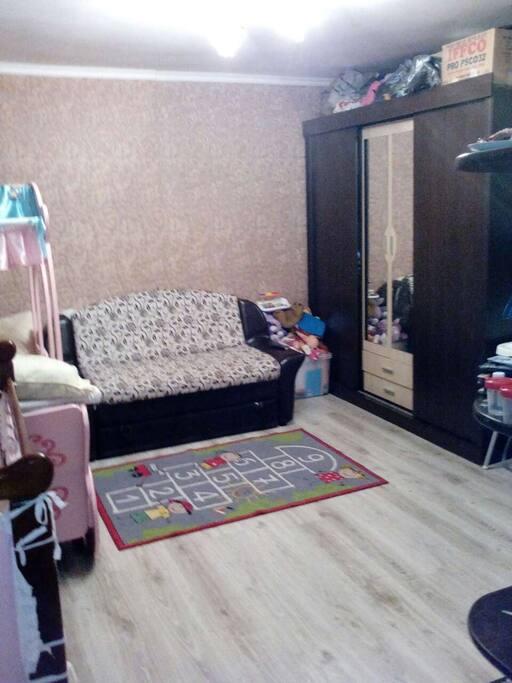 гостинная-спальня