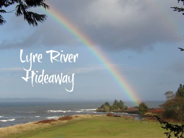 Lyre River Hideaway; Water views; beach access