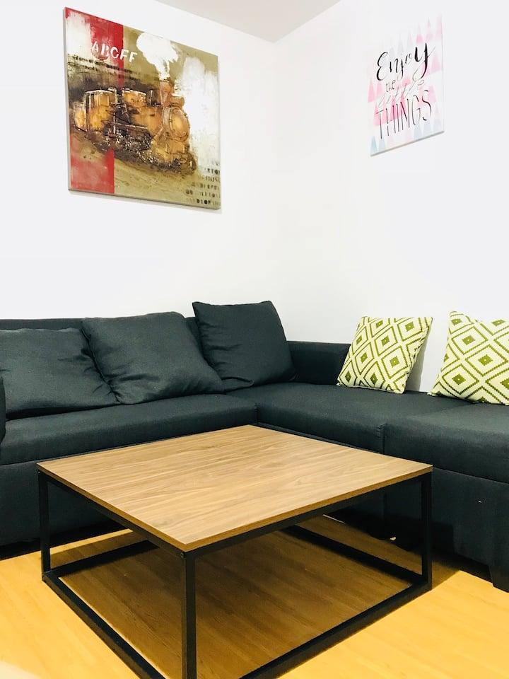 Budget-friendly condo(fully furnished)w/netflix
