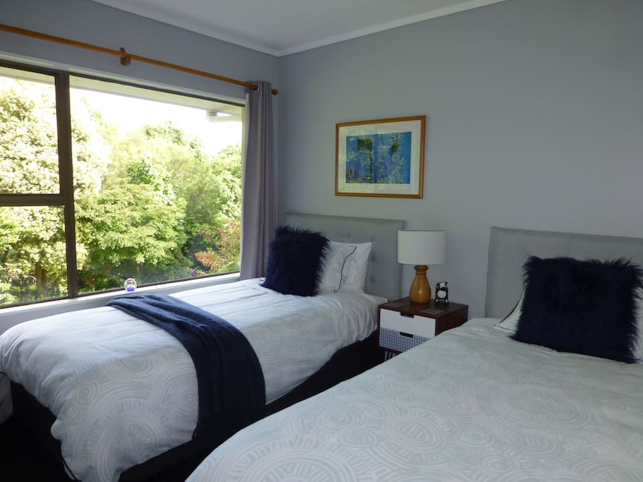 Twin room with 2 King single beds