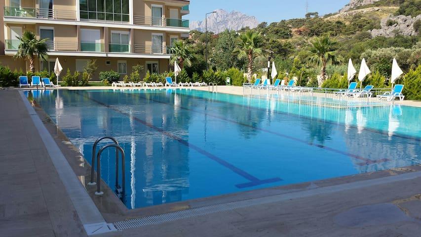 Antalya Moonlight Residence 1+1 ev - Konyaaltı  - Apartamento