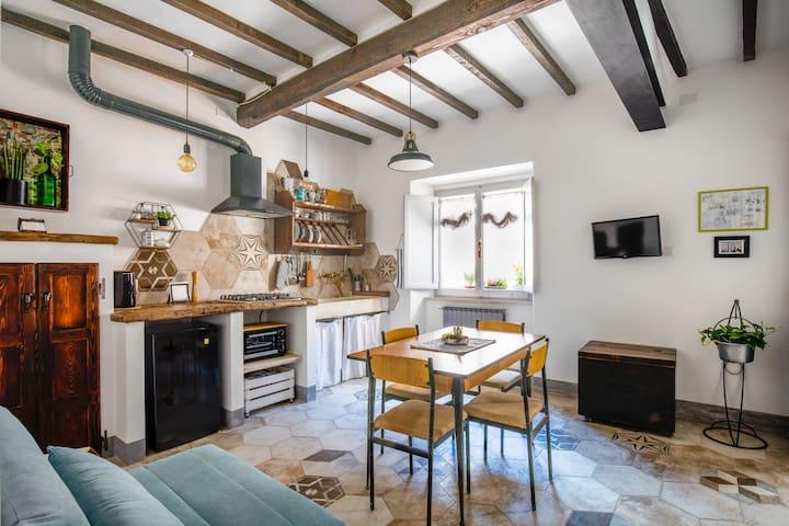 Manilla House Appartamento in centro Montepulciano