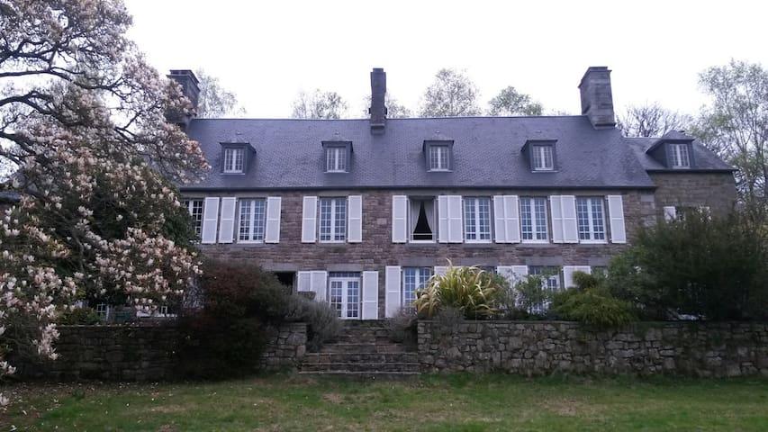 Magnifique propriété du 17 è meublée - Villedieu-les-Poêles - Talo