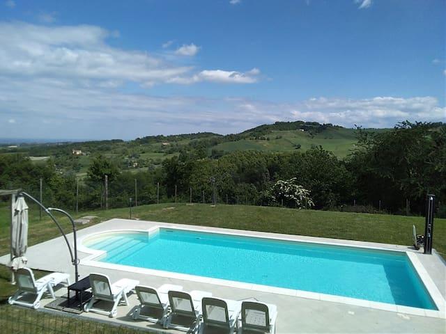 Villa Belle Vue  camere con colazione e piscina