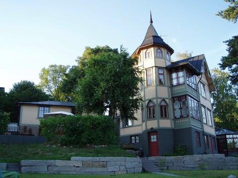 Villa Paradiset, the AnnX building