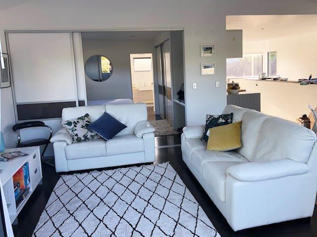 Living area - current decor