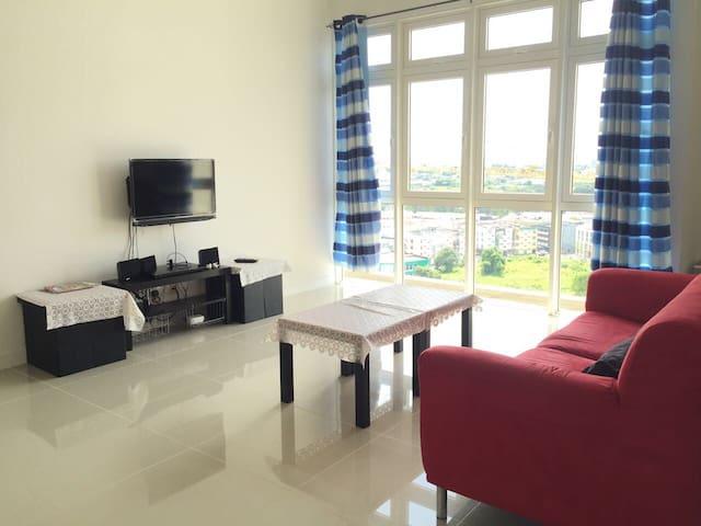 Lim condominium near city in Kuching