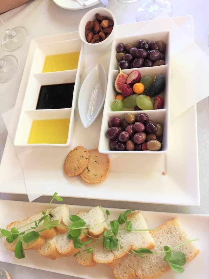 Stunning Olive & Olive Oil tasting
