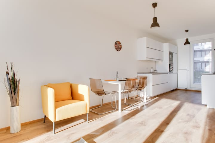 New appartment 100m with terrace - Praga - Pis