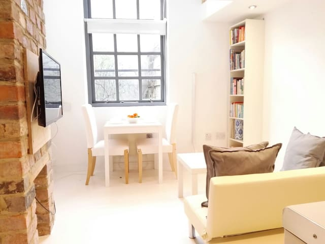 Cute Streamside Apartment in North Leeds - Leeds - Appartement