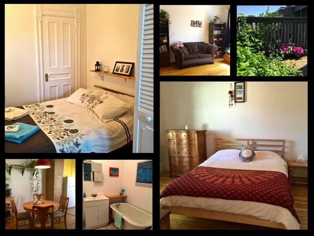 Beautiful & Vintage Apartment Spacious & Luminous - Montréal - Appartamento