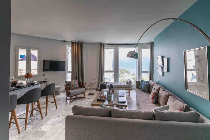 Apartment «The view» , 50m from the beach