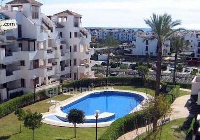 Apartamento  4 personas a 100 m de la playa.- - Playas de Vera - Leilighet