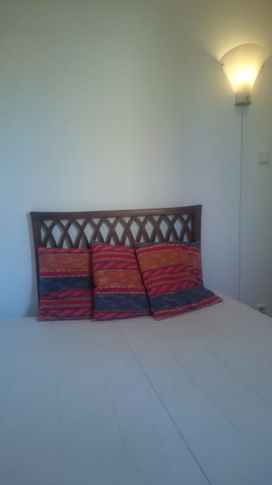 Your bed folded out 200 x 140 cm.