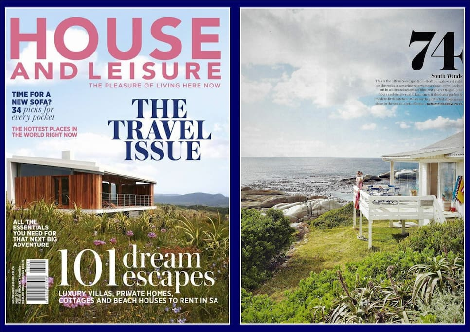 After one visit you will understand why we were voted as one of the 101 dream escapes in South Africa