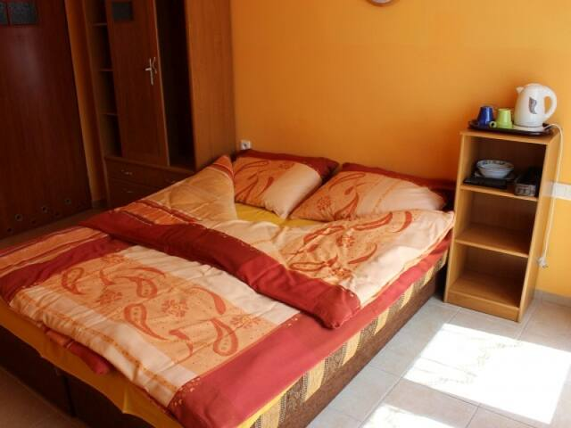 Double room with balcony. O.W. NA WIEJSKIEJ