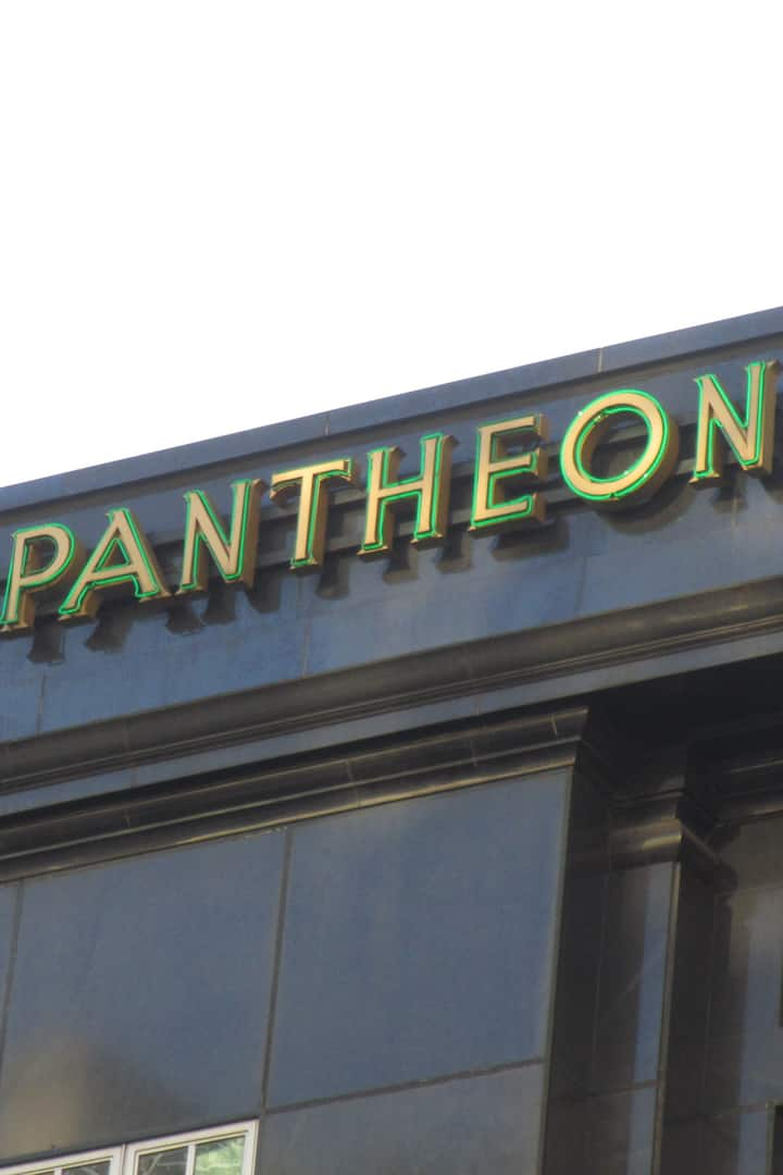 But this Pantheon is in London not Rome