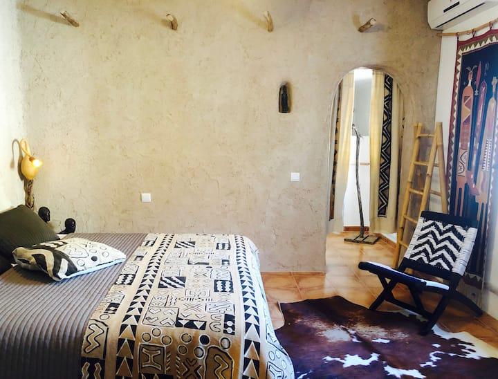 Knusse kamer in hartje Andalusië