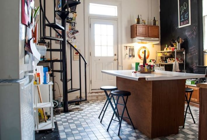 Private Loft Two Blocks to Quarter - New Orleans - Daire