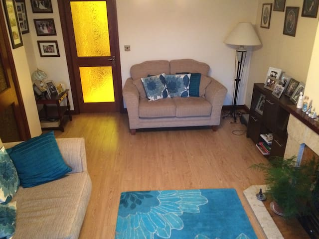 Clean, pet free room in quiet home - Newry - Casa