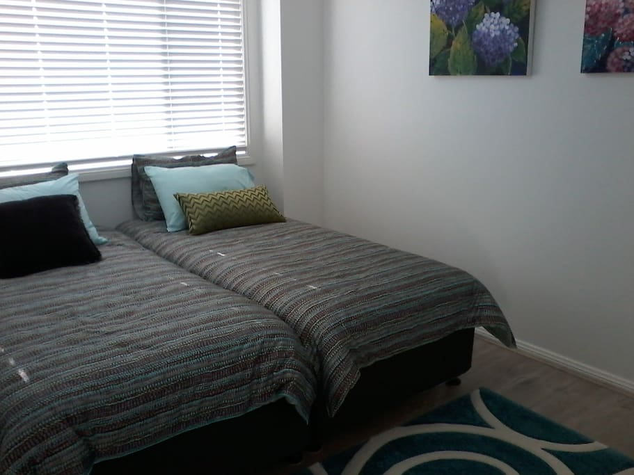 Very comfortable  single beds