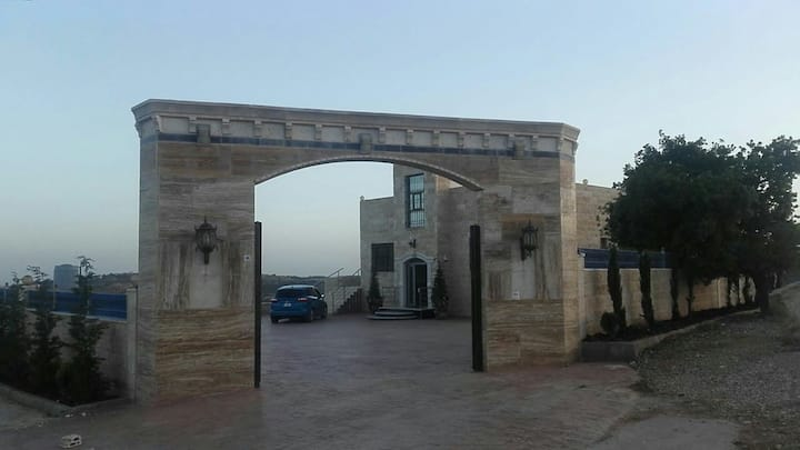 Jerash villa with amazing view