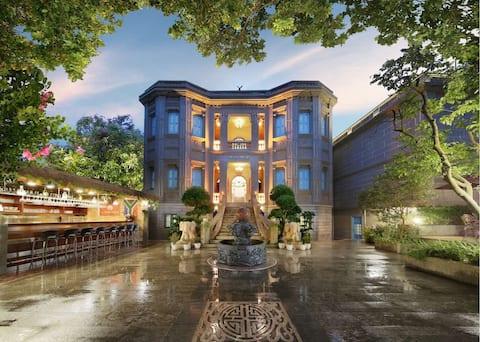 整栋别墅,超大园景酒吧,近海,豪华大床房