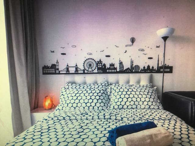 Puchong City Center Sky.Pod Comfy Residence 6~8Pax