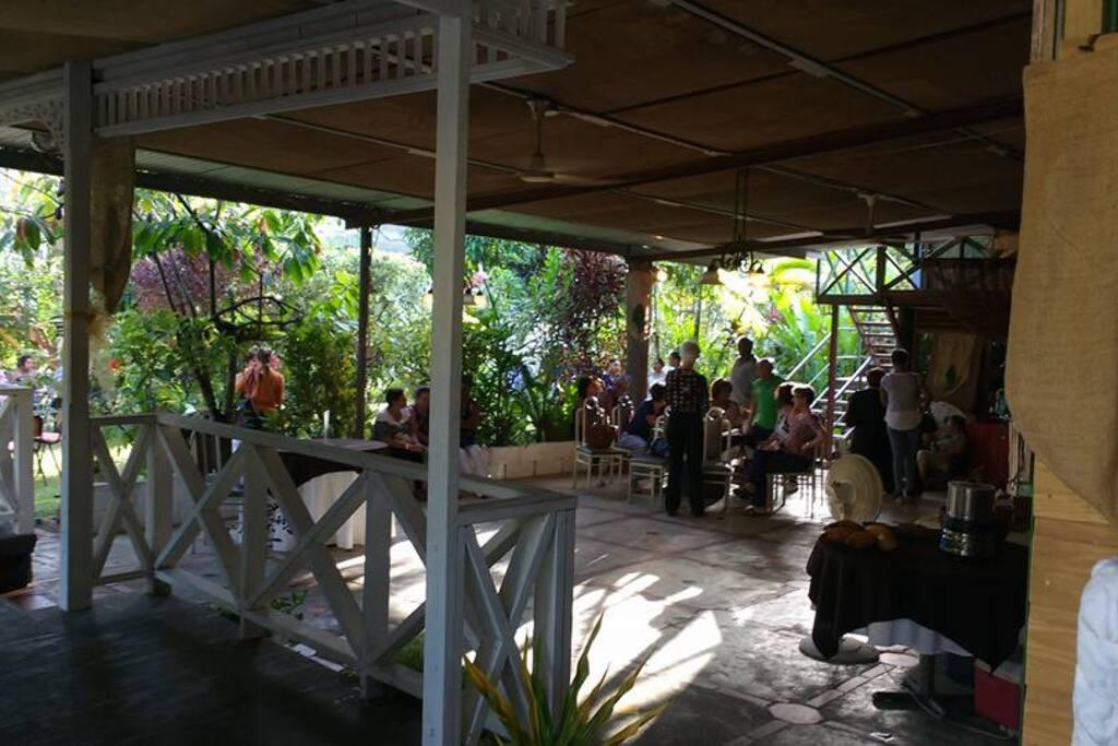 Cafe Mariposa's Main Dining Area
