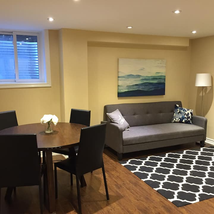 Modern Basement Apartment Centrally located Ajax