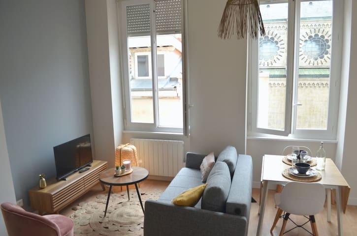 Studio neuf, avec charme de l'ancien