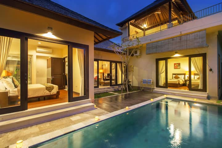 Uluwatu 2 BR Tranquil Family Beach Villa #family