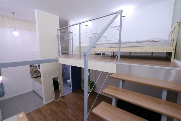 Super stylish BP studio with excellent location - Budapest - Wohnung