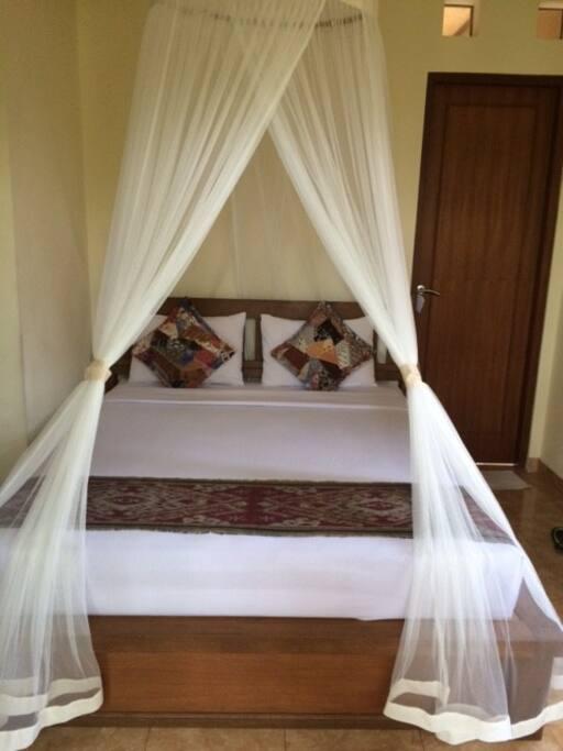 New mosquito netting