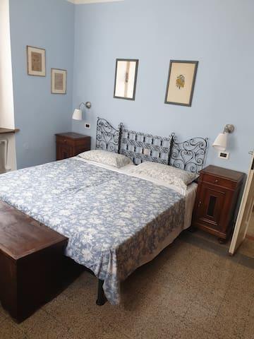 Camera letto matrimoniale o due letti singoli