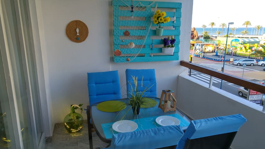 Wonderful apartament with sea views - Roquetas de Mar - Appartement