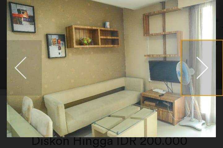 Apartment Green Central City 2 bedroom Jakarta