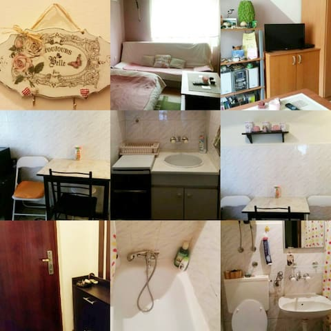 Great location, cute and functional apartment, 25m