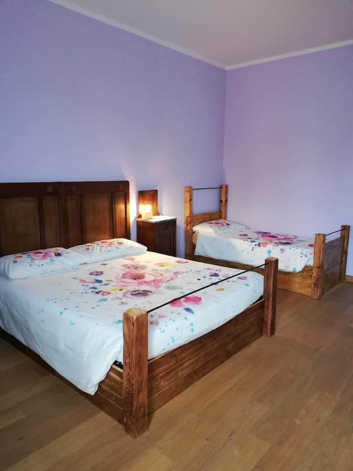 """""""Casa Mia"""" stanza Glicine"""
