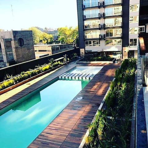 Brand new Palermo apart with pool, gym and balcony