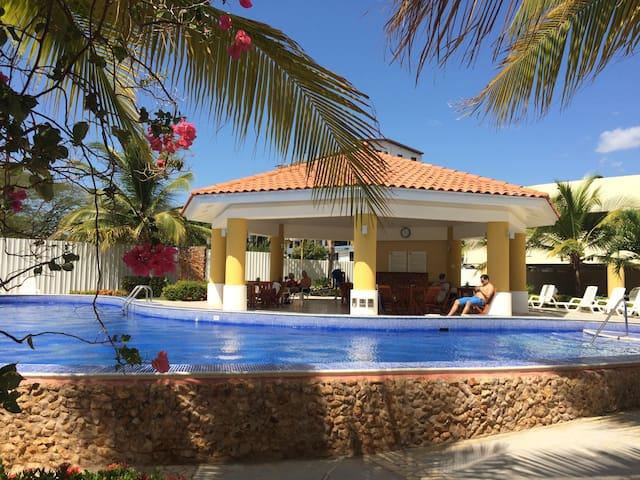 Acogedor apto en La Playa de Panamá - Nueva Gorgona - Lejlighed