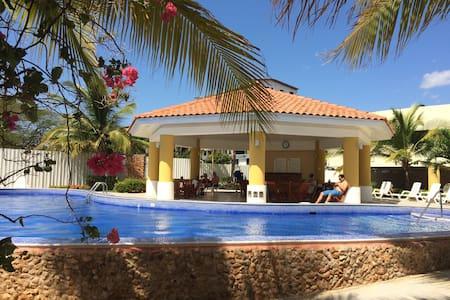 Acogedor apto en La Playa de Panamá - Nueva Gorgona - Apartament