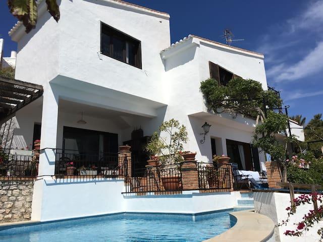 Casa Piedra - stunning sea and mountain views - Salobreña - House