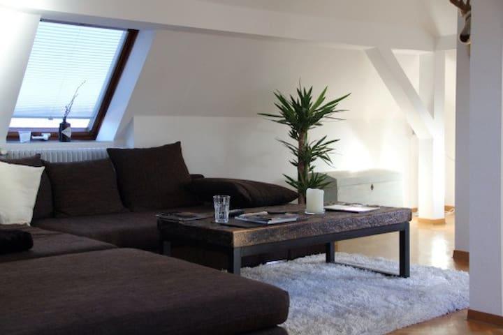 Über Stuttgarts Dächern am Feuersee - Stuttgart - Apartmen
