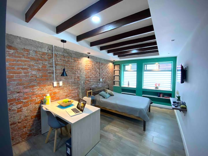 Modern & Rustic Loft in Heredia Dwtn.